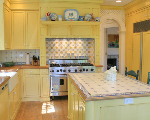 kitchen cabinets photos ideas yellow kitchen design ideas renovations amp photos with 6319