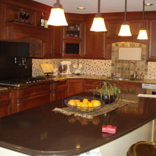 Traditional Kitchen by Kitchens & More by Melissa