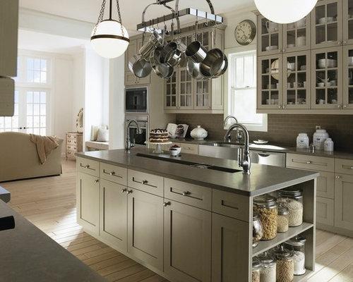 Best Taupe Kitchen Cabinets Design Ideas Amp Remodel