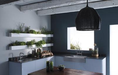6 Angolini Verdi per le Piante in Cucina (e Come Farli da Sé)
