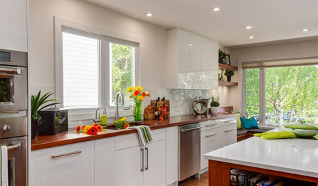 The Best Backsplashes to Pair With Wood Counters