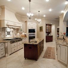 Traditional Kitchen by Kurk Homes