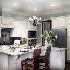 Traditional Kitchen by Adrienne Elliott Designs