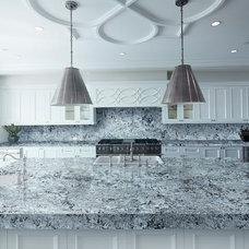 Contemporary Kitchen by Levantina USA