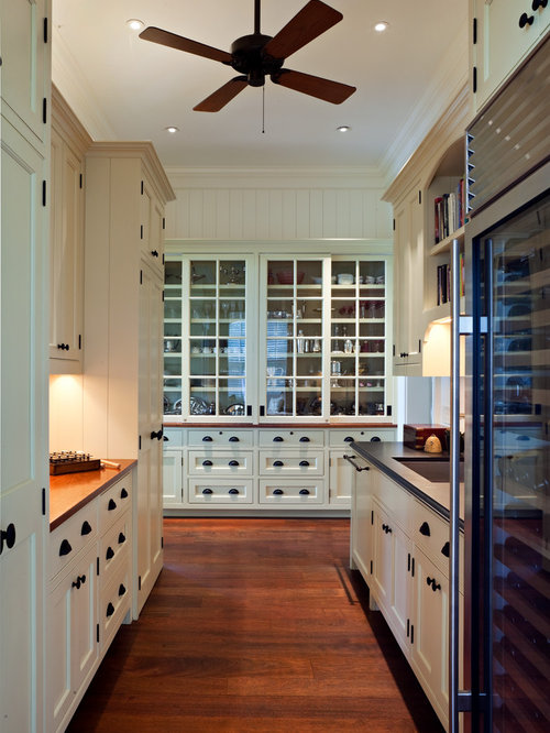 Top 30 Traditional Kitchen Pantry with Yellow Cabinets Ideas   Houzz
