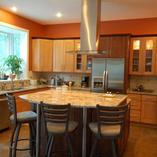 Traditional Kitchen by MW Construction Services, LLC