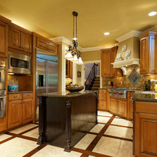 Traditional Kitchen by Marshall Evan Photography