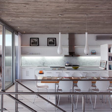 Contemporary Kitchen by Martin Gomez Arquitectos