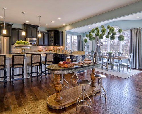 Morning room houzz for Kitchen morning room designs