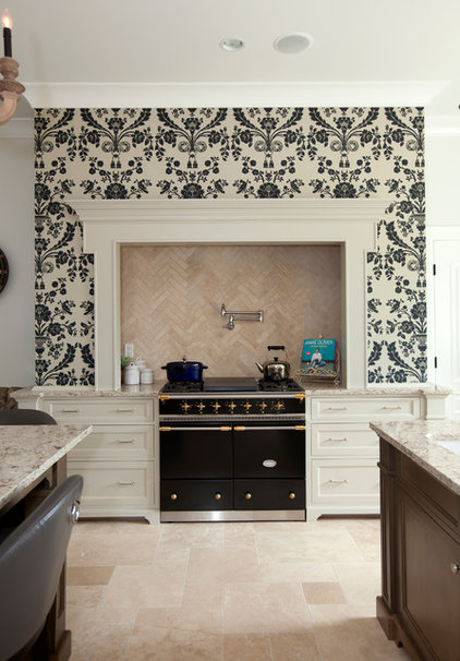 Transitional Kitchen by McBurney Junction