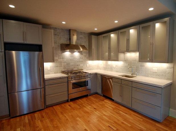 Contemporary Kitchen by Melissa Miranda Interior Design