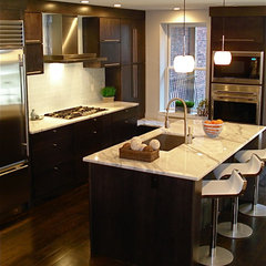 contemporary kitchen by Melissa Miranda Interior Design