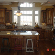 Traditional Kitchen by MILLER'S CUSTOM CABINETS
