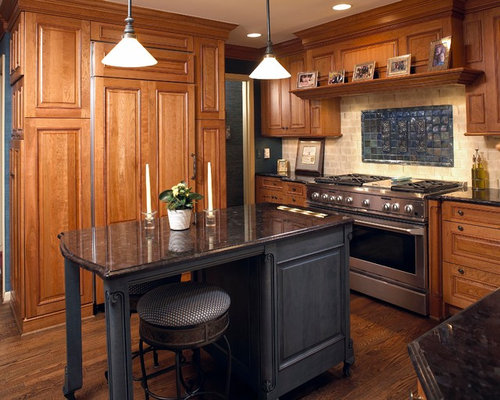 Small kitchen island houzz - Kitchen islands for small kitchens ...