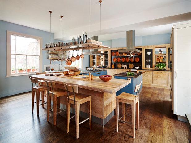 Ideas para dejar sartenes a la vista en la cocina sin que for Donde estudiar cocina
