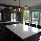 Mocha Shaker Kitchen Cabinets - Kitchen - Philadelphia - by RTA Cabinet Store