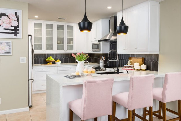 Contemporary Kitchen by Nicole White Designs Interiors LLC
