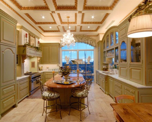 Shabby Chic Style Kitchen Ideas Inspiration With Light