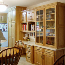 Traditional Kitchen by Old School Cabinets