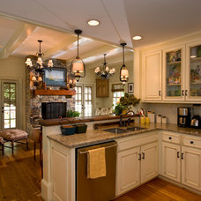 Contemporary Kitchen by Paces Construction Co