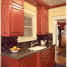 Traditional Kitchen by Potter Construction Inc