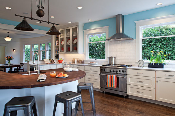 Contemporary Kitchen by Potter Construction Inc