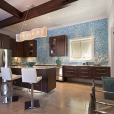 Contemporary Kitchen by R & D Builders and Design LLC