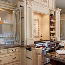 Mediterranean Kitchen by R & D Builders and Design LLC