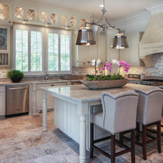 Traditional Kitchen by R & D Builders and Design LLC