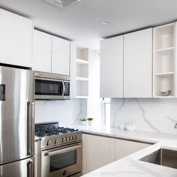 Kitchens remodel @ New Condo conversion in Hell's Kitchen