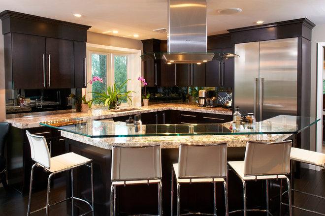 Modern Kitchen by Renovations by Garman LLC
