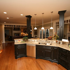 Traditional Kitchen by Renovations by Garman LLC