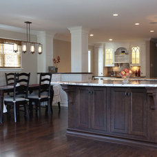 Traditional Kitchen by S.W. Scheipeter Construction