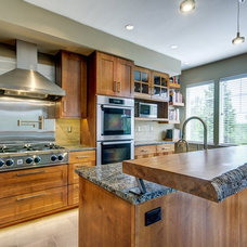 Contemporary Kitchen by Sawhorse Design & Build