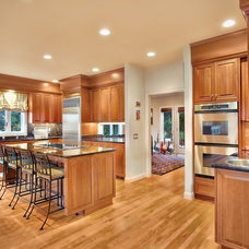 Traditional Kitchen by Sawhorse Design & Build