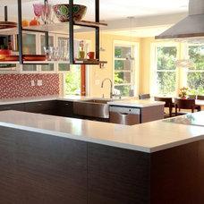 Contemporary Kitchen by Sawhorse Design & Build