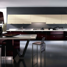 Modern Kitchen by SEE MATERIALS INC.