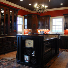 Traditional Kitchen by Sellers Tile Distributors