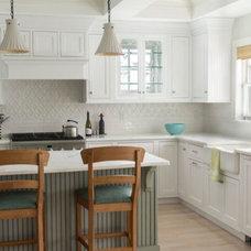 Traditional Kitchen by Snug Harbor Tile