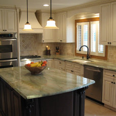 Traditional Kitchen by Specialty Woodworking, Inc.
