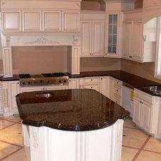 Kitchen by Stone Art Design, Inc.