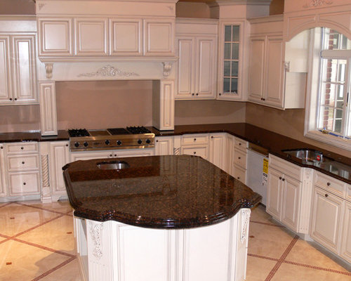 Tan brown granite houzz Kitchen platform granite design
