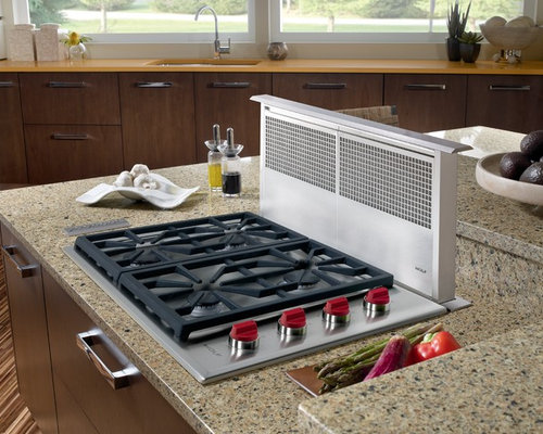 Pop Up Vents For Cooktops ~ Pop up downdraft cooktop home design ideas pictures