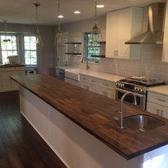 Knoxville, TN. Modern Farmhouse Kitchen Remodel