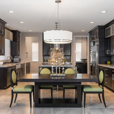 Contemporary Kitchen by Terry Ellis, ASID - Room Service Interior Design