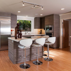 Contemporary Kitchen by The Cutting Edge Custom Cabinetry