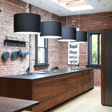 Eclectic Kitchen by The Last Inch