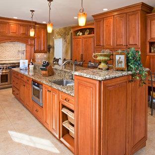 Kitchens - Tiered Island Design