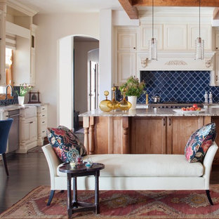 Blue Backsplash Houzz