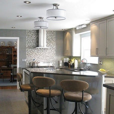 Contemporary Kitchen by Tyson Designs